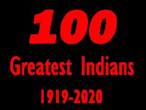 100 Greatest Indians Logo